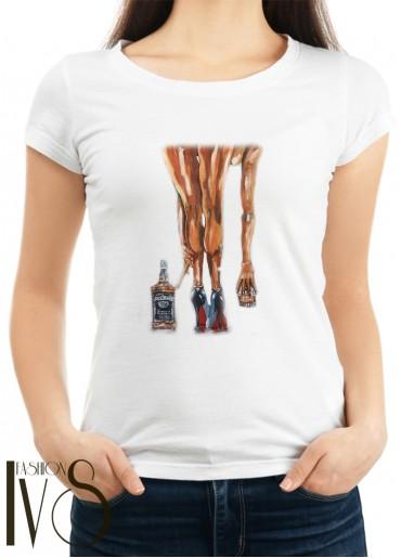 Дамска тениска бяла Модел 1115