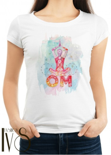Дамска тениска бяла Модел 1112
