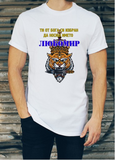 Мъжка тениска за Любомир, Любо, Любен ID: 32