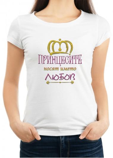 Дамска тениска за ВЯРА, НАДЕЖДА, ЛЮБОВ И МАЙКА СОФИЯ ID: 7