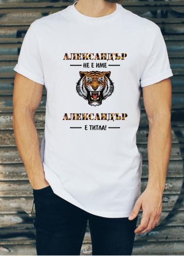 Мъжка тениска за Александровден ID: 24