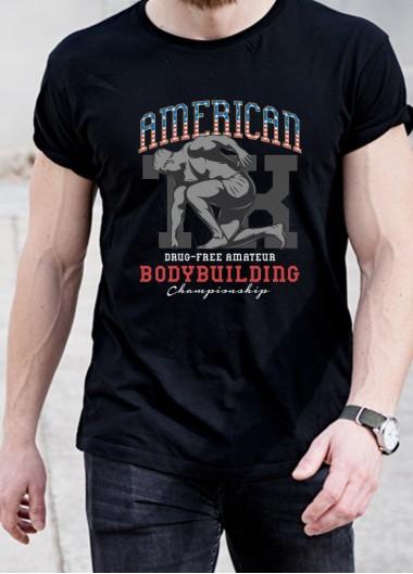 Мъжка тениска Модел 312FTB