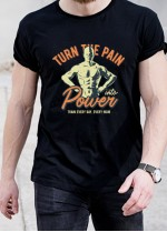 Мъжка тениска Модел 314FTB