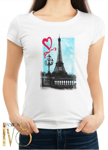 Дамска тениска  PARIS