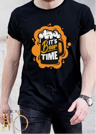 Мъжка тениска IT'S Beer TIME