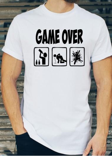 Мъжки тениски за ергенско парти Модел 3