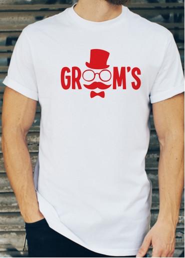 Мъжки тениски за ергенско парти Модел 11