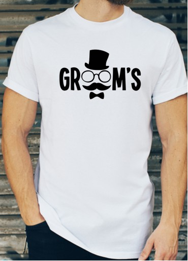 Мъжки тениски за ергенско парти Модел 13