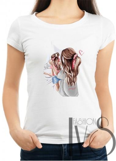 Дамска тениска Модел 1100