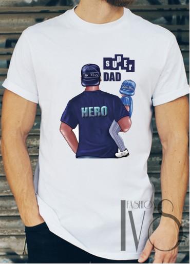 Мъжка тениска SUPER DAD
