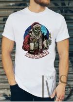 Мъжка тениска с коледни мотиви Модел 45BM