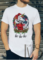 Мъжка тениска с коледни мотиви Модел 46BM