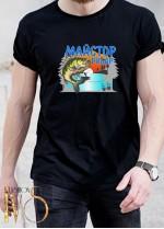Мъжка черна тениска ЛОВ И РИБОЛОВ Модел 13