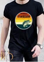 Мъжка черна тениска ЛОВ И РИБОЛОВ Модел 21