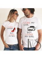 Модел 5V Тениски за двойки
