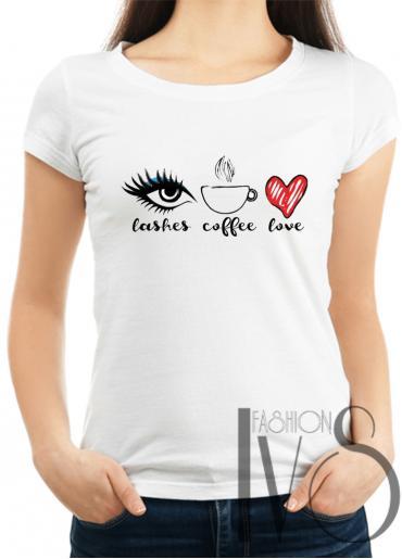 Дамска тениска бяла Модел 1000