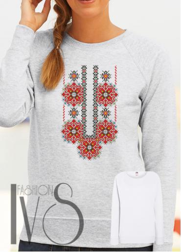 Дамска блуза с фолклорни мотиви Модел 106SF