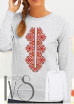 Дамска блуза с фолклорни мотиви Модел 108SF