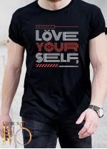 Мъжка тениска LOVE YOUR SELF