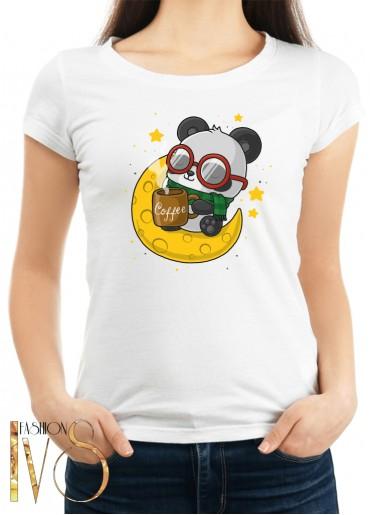 Дамска тениска бяла - PANDA