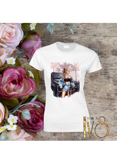 Дамска тениска Модел 235