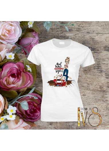 Дамска тениска Модел 242