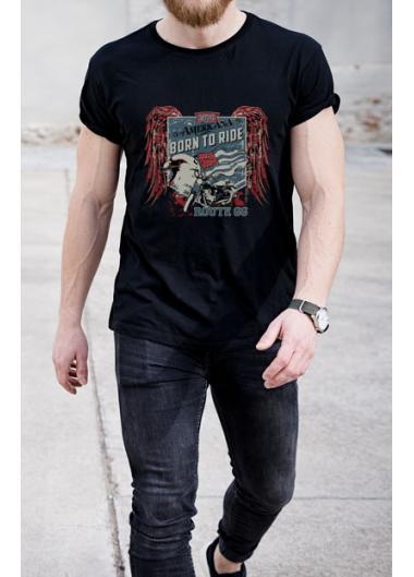 Мъжка тениска Модел 126EM