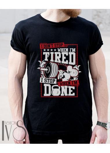 Мъжка тениска Модел 137EM