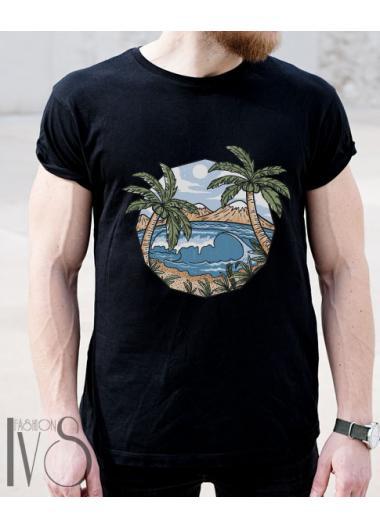 Мъжка тениска Модел 162EM