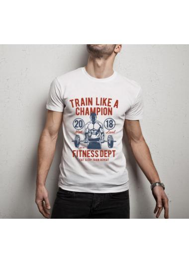 Мъжка тениска Модел 138T