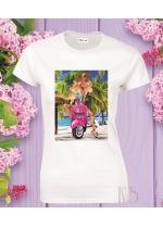 Дамска тениска Модел 780 Summer