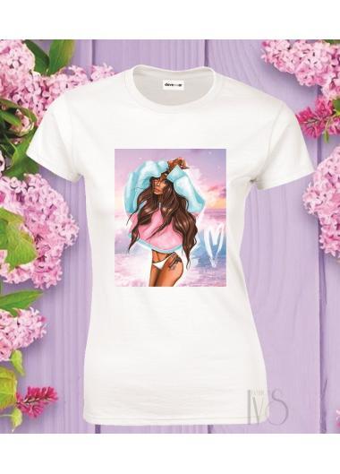 Дамска тениска Модел 795 Summer
