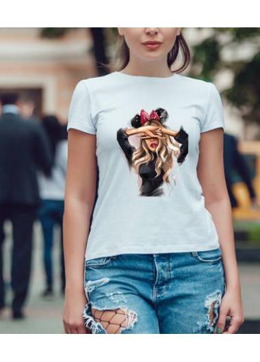 Дамска тениска Модел 816