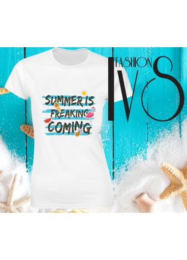 Дамска тениска Модел 684 Summer