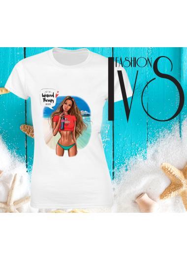 Дамска тениска Модел 686 Summer