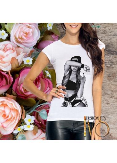 Дамска тениска Модел 212