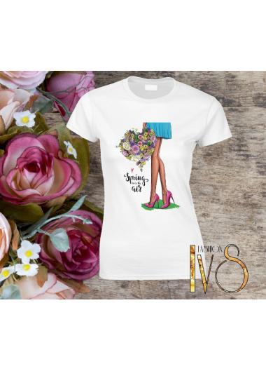 Дамска тениска Модел 383