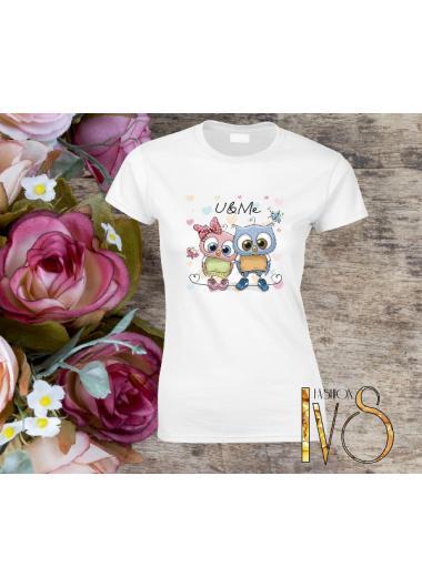 Дамска тениска бялаМодел 178
